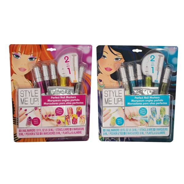 Style Me Up, Nagelstyling, Rosa