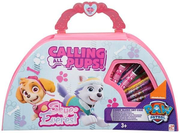 ART Carry Along Art Case, Rosa, Paw Patrol