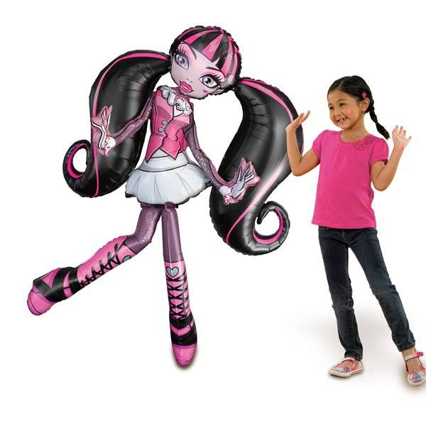 Air Walker, Ballong, Draculaura, 165 cm, Monster High