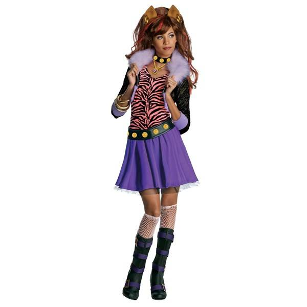 Maskeraddräkt, Clawdeen Wolf, Monster High