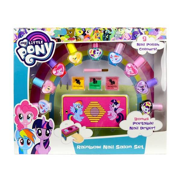 Rainbow Nail Salon Set, My Little Pony