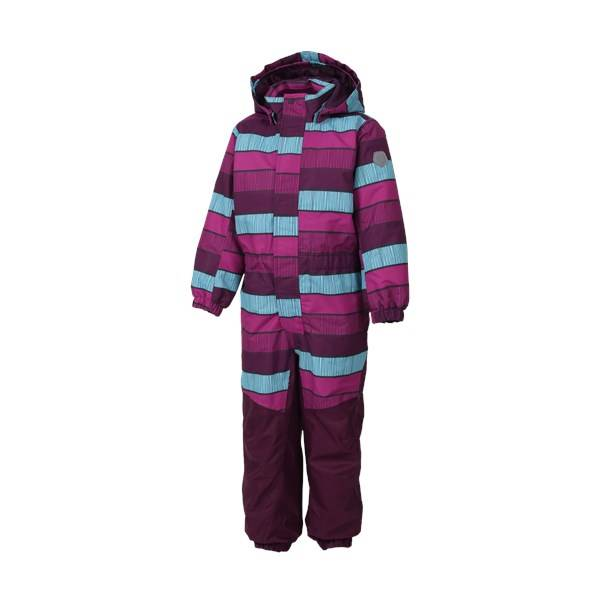 Klement padded coverall, Berry, Color kids