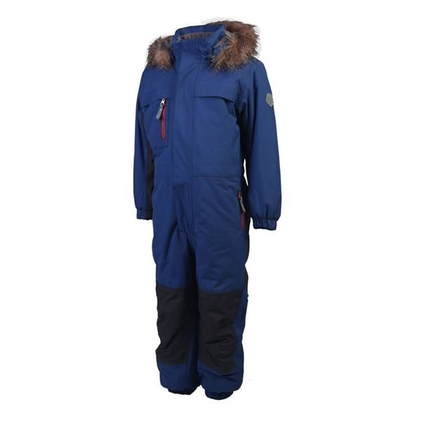 Kito padded coverall, Blå, Color Kids