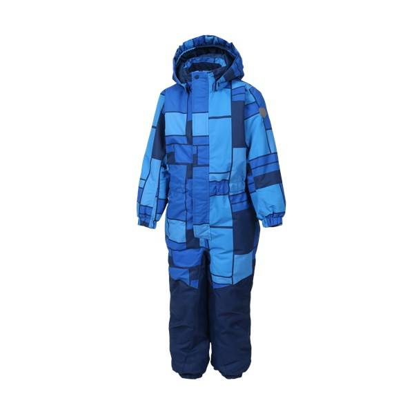 Klement padded coverall, Blue Sea, Color kids