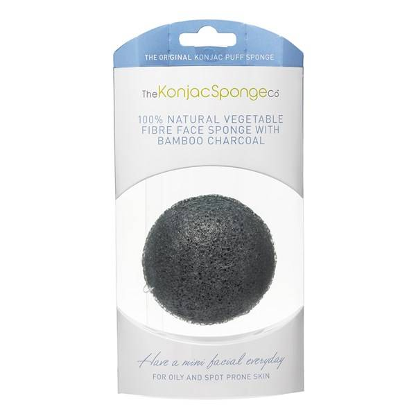 Premium Facial Puff with Bamboo Charcoal