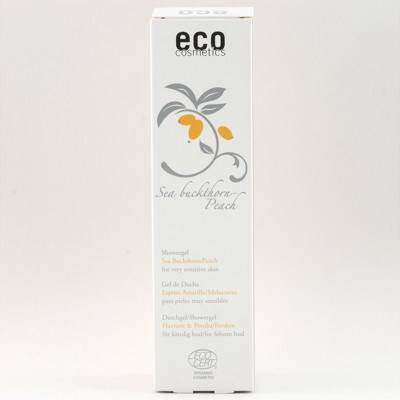 Eco Cosmetics Duschgel Sensitive Havtorn Persika 200ml