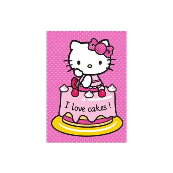 Hello Kitty Matta, I love cakes, Hello Kitty