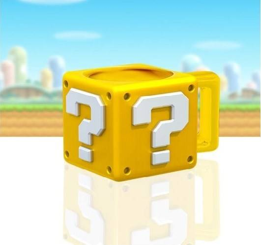 Super Mario Question Block Muki