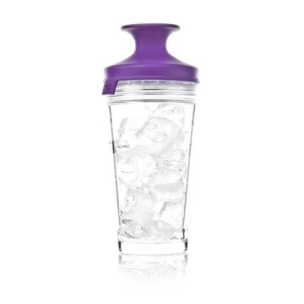 Vacuvin PopSome Cocktail Shaker Lila