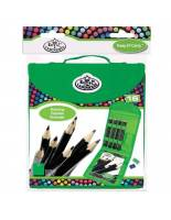 ART Piirustuskynät Cool Art Sketching Pencil Keep & Carry Set, Royal & Langnickel