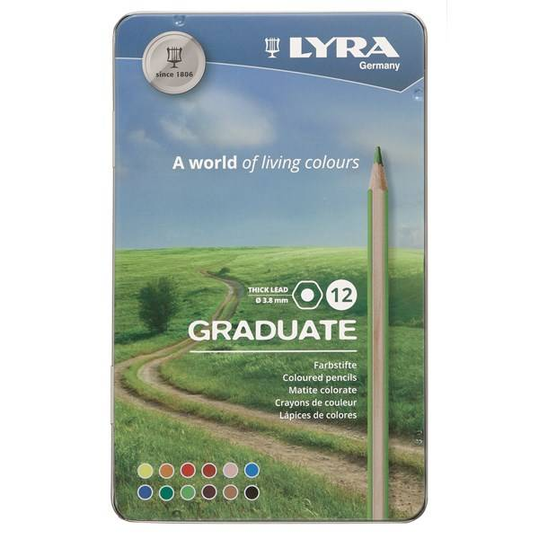 Lyra Graduate Colour Pencil 12-Pack