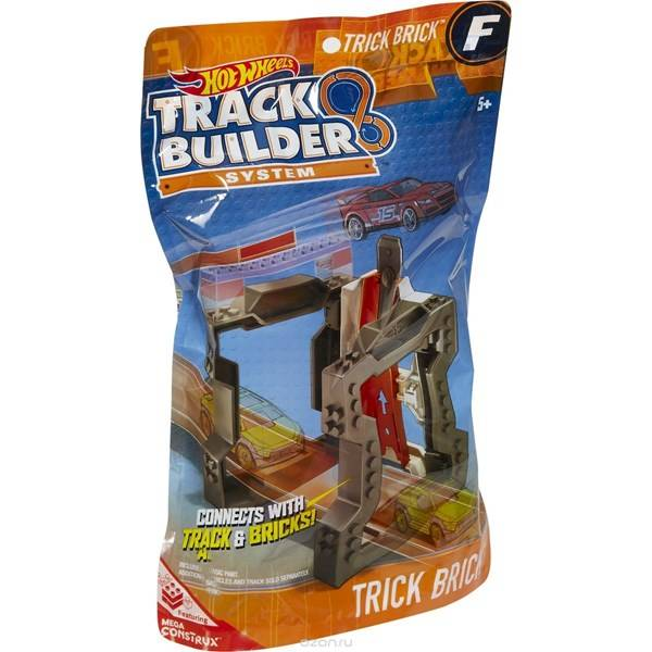 Track builder accessory, Trick Brick, Hot Wheels