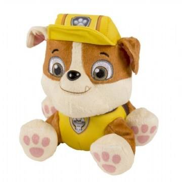 Paw Patrol, Basic Plush, Rubble