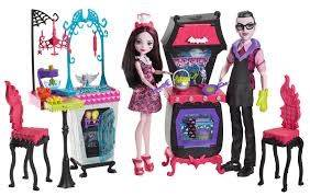Draculaura & Dracula Playset, Monster High