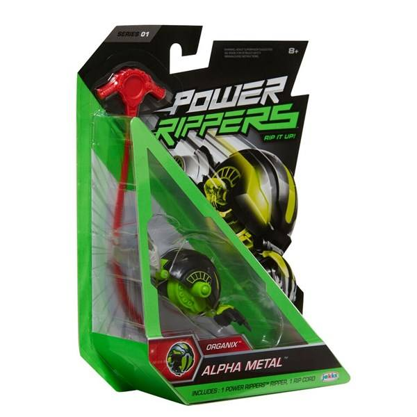 Battle Rippers, Alpha Metal, 1-pack, Jakks Pacific