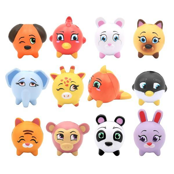 Blind bag, Animal Squeezy, Kawaii Squeezies