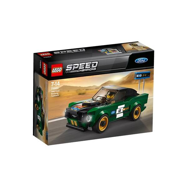 Lego 1968 Ford Mustang Fastback, LEGO Speed Champions (75884)