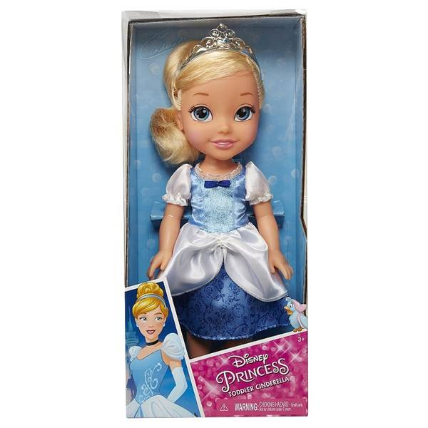 Toddler doll 35 cm, Cinderella, Jakks Pacific