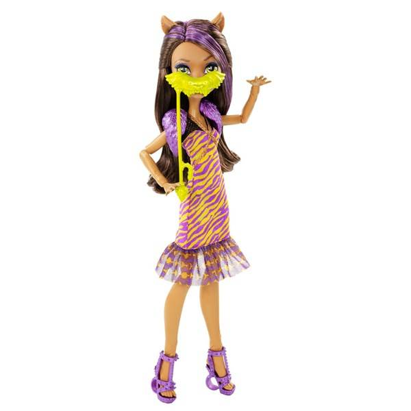 Monster High Welcome To Monster High Clawdeen Wolf