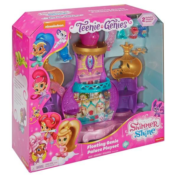 Floating Genie Palace, Shimmer and Shine