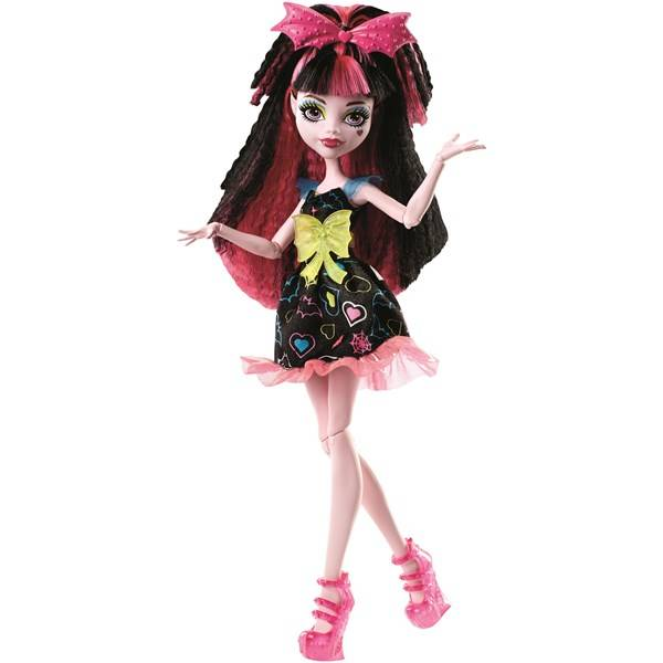 Monster High Electrifies Montruos Hair Ghouls Draculaura
