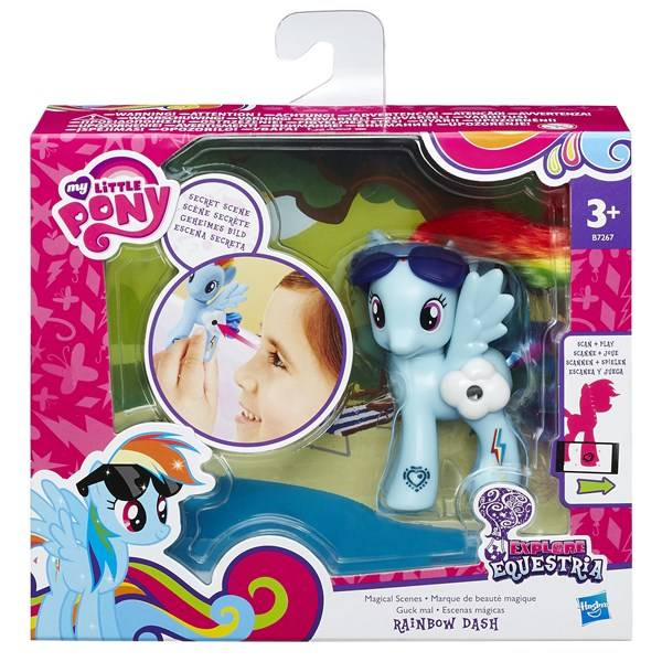 Explore Equestria Magical Scenes, Rainbow Dash, My Little Pony