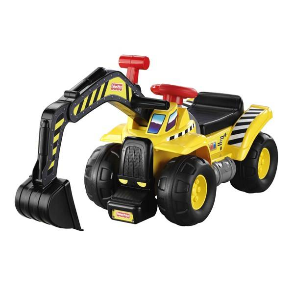 Fisher-Price Big Action Dig´n Ride, Fisher-Price