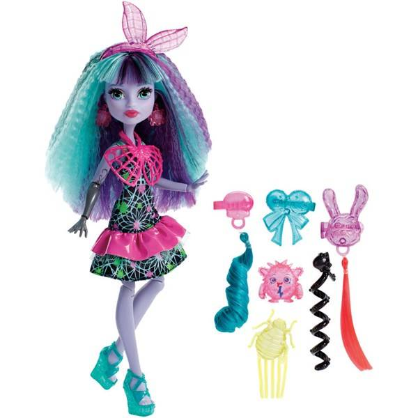 Twyla, Electrified Monstrous Hair Ghouls, Monster High