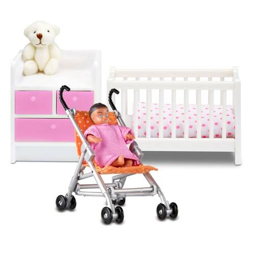 Lundby 2 sets in 1 Speacial Edition Småland Baby Setti