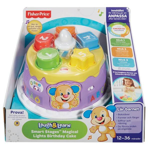 Smart Stages, Magical Lights Birthday Cake, Fisher-Price