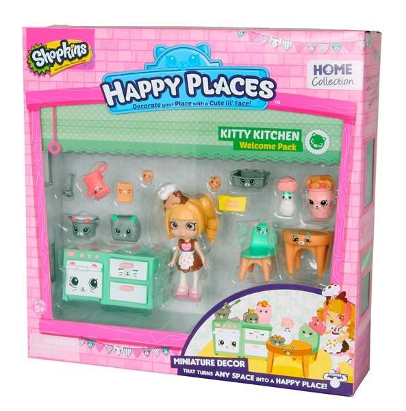 Shopkins Happy Places Welcome Pack Kitty Kitchen