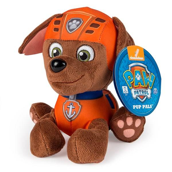 Paw Patrol, Basic Plush, Zuma