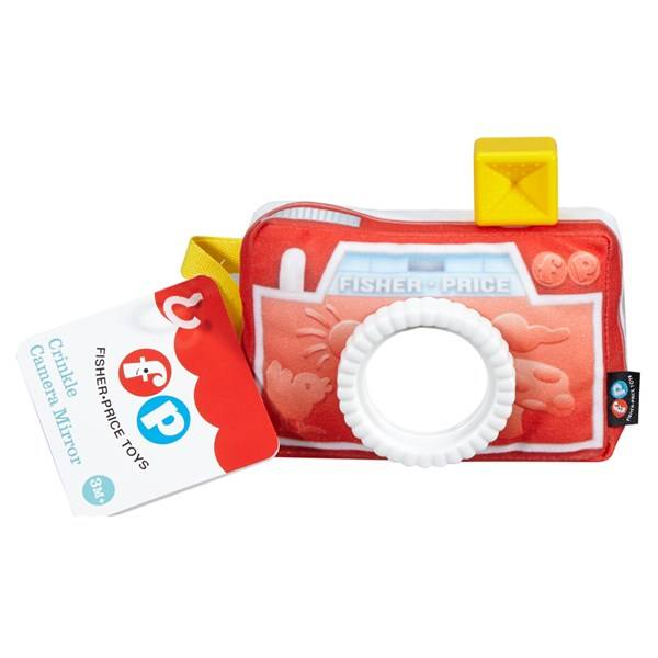Fisher-Price Crinkle Camera Mirror, Fisher-Price