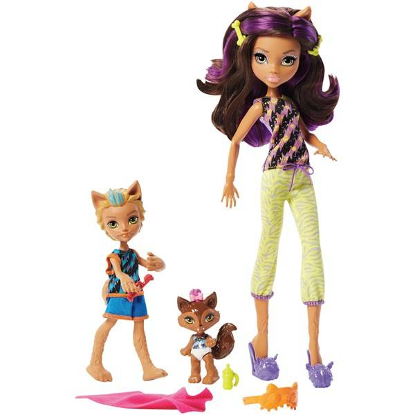 Monster Familj Clawdeen Wolf, Monster High
