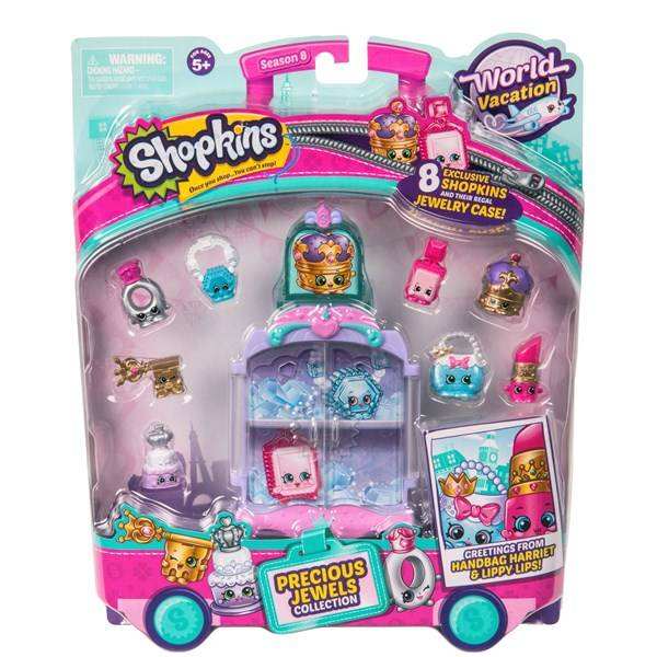 Precious Jewels collection, Shopkins World Vacation Europe