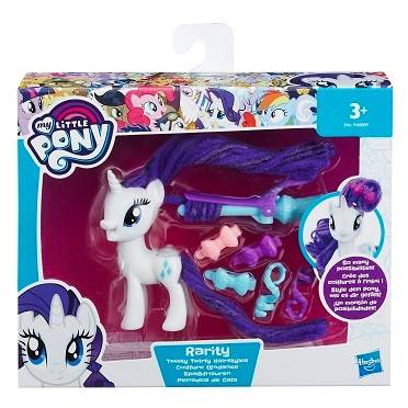 My Little Pony Twist Twirly Hairstyles Rarity