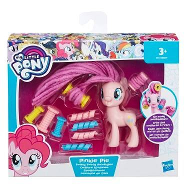 My Little Pony Twirly Hairstyles Pinkie Pie