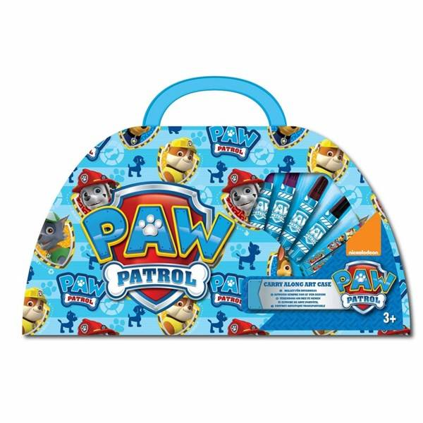 ART Carry Along Art Case, Blå, Paw Patrol