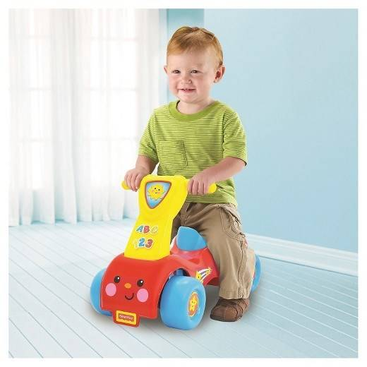 Push´n scoot, Ride-On, Sparkbil, Fisher-Price