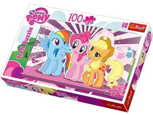 My Little Pony - Pussel, 100 bitar, Trefl