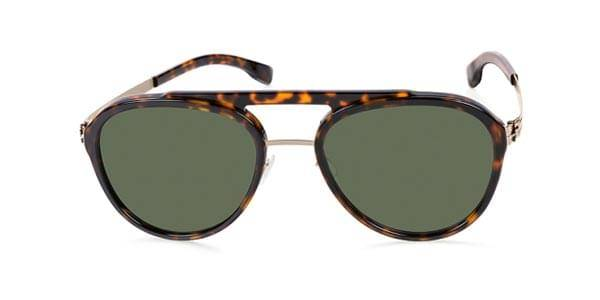 Ic! Berlin Aurinkolasit D0028 Daniel D. Polarized Bronze Magma - Green