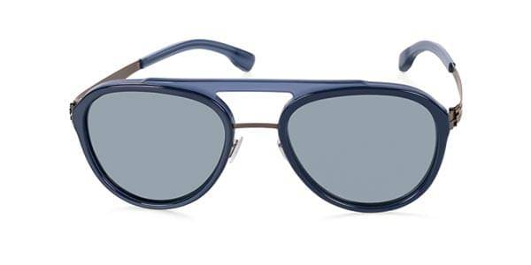 Ic! Berlin Aurinkolasit D0028 Daniel D. Graphite Deep Blue Sea - Grey