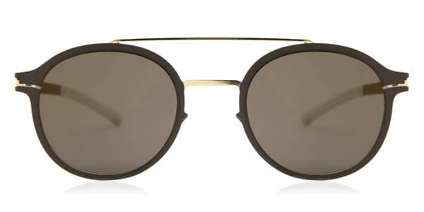 Mykita Aurinkolasit Crosby Gold Terra Brilliant Grey Solid