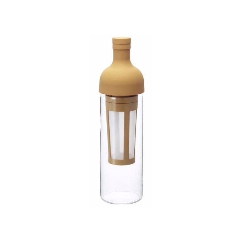 Hario Filter-In Coffee Bottle cold brew kahvipullo 0.65 l. kermanvärinen