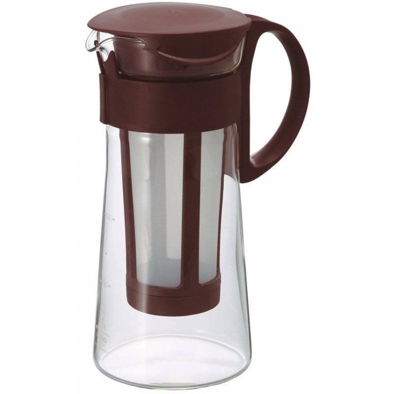 Hario Mizudashi Coffee Pot cold brew kannu 600 ml. ruskea
