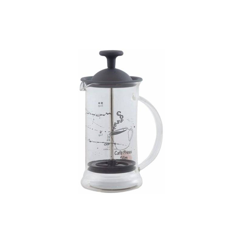 Hario Cafe Press Slim pressopannu 240 ml. musta