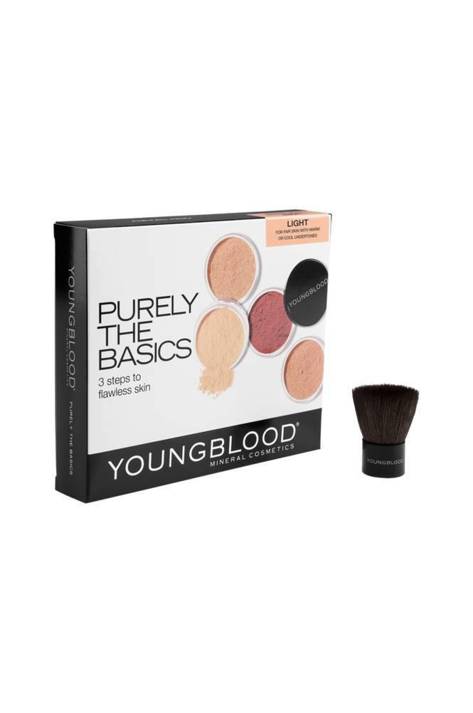 Youngblood Mineral Cosmetics Purely The Basic Kit Light