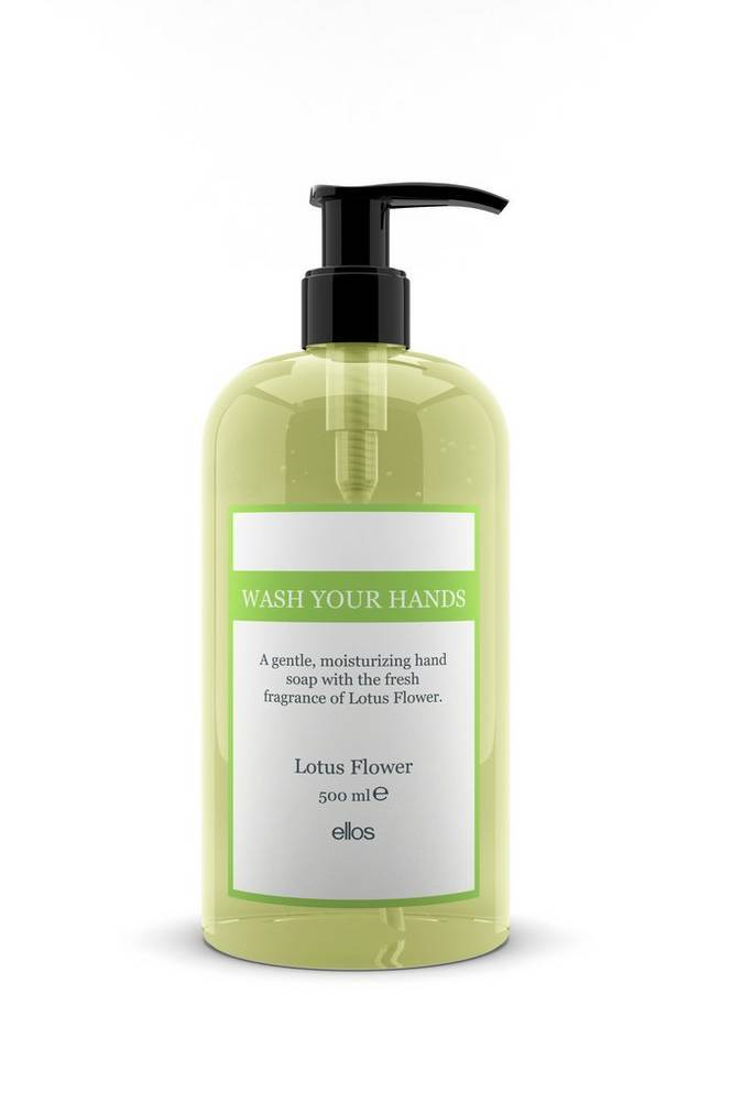 Beauty by Ellos Wash Your Hands   Lotus Flower Hand Soap 500 ml
