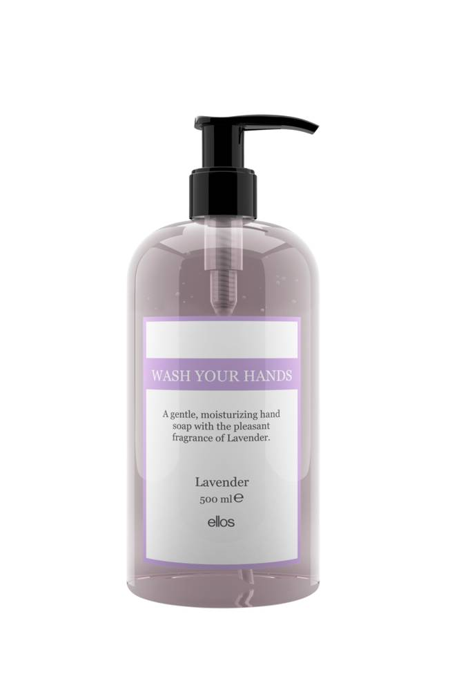 Beauty by Ellos Wash your hands   Lavender Hand Soap 500 ml