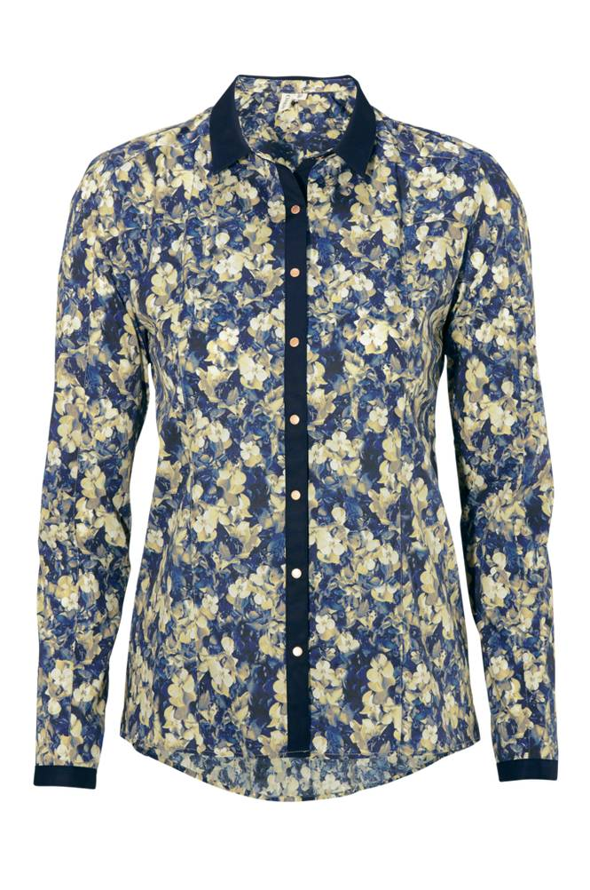 CLOSE by DENIM The Printed Blouse